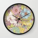 the wild side - summer tones Wall Clock