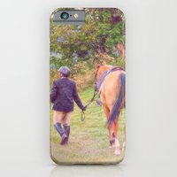 iPhone & iPod Case featuring Best Friends by Karol Livote