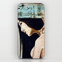 Cradle to the tomb iPhone & iPod Skin