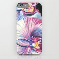 Pink Orchid Study iPhone 6 Slim Case
