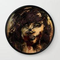 Female Zombie Wall Clock