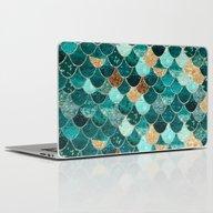 Laptop & iPad Skin featuring REALLY MERMAID by Monika Strigel