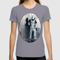 We Shouldn't Have Let Hi… Womens Fitted Tee Slate SMALL