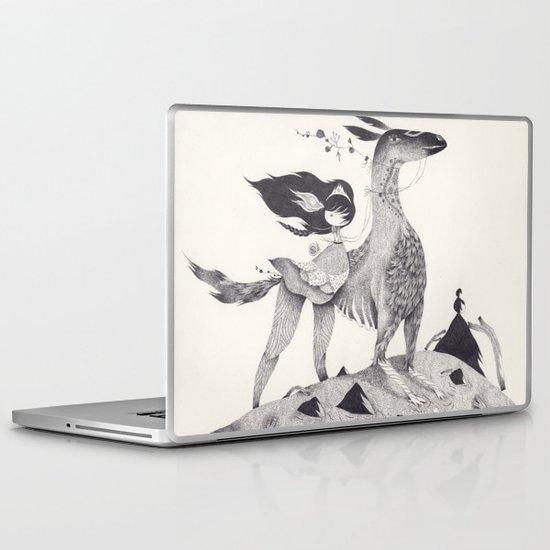 le souffle Laptop & iPad Skin