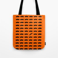 Find The Mustache handlebar Tote Bag