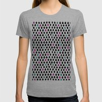 Diamond 2 Womens Fitted Tee Athletic Grey SMALL