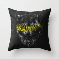 Kleptomania Throw Pillow