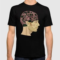 PHRENOLOGY Mens Fitted Tee Black SMALL
