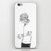 Not Stripes iPhone & iPod Skin