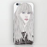 Pastel Girl 1 iPhone & iPod Skin
