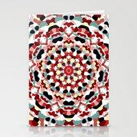 Mandala Number 4 Stationery Cards
