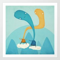 we were made for this  Art Print