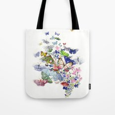 A flow of happiness Tote Bag