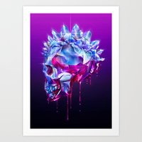 Diamond Mohawk I Art Print