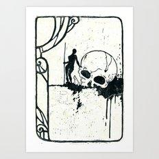 disposable hero 002 Art Print