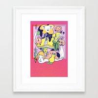 Promo Piece Framed Art Print