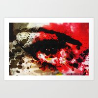 Window Of The Soul - Passion Art Print