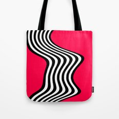 Wavy Lines - Graphic Art piece Tote Bag