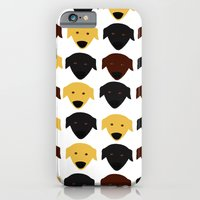 Labrador dog pattern iPhone 6 Slim Case