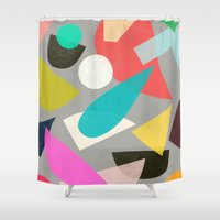 colored toys 1 Shower Curtain
