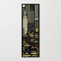 New York (Vertical) Canvas Print