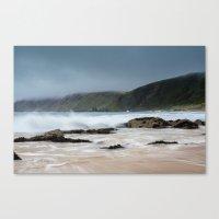 Kinnagoe Bay Canvas Print