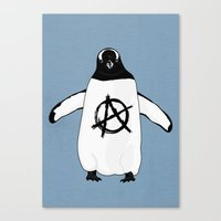 Anarchy In The Antarctic Canvas Print