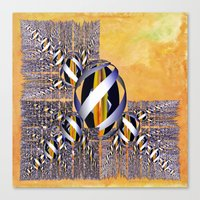 Gem of Gold Canvas Print