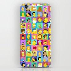 Simpsons iPhone & iPod Skin