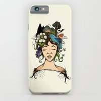 iPhone & iPod Case featuring Mother nature by Lee Grace Illustration