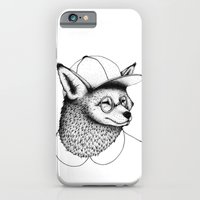 iPhone & iPod Case featuring Hipster Fox by Koko Plasma
