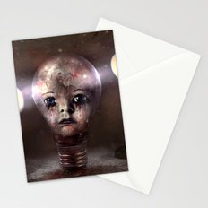 Sadness in the Dark Stationery Cards