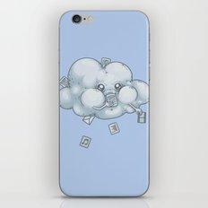 Cloud Storage iPhone & iPod Skin