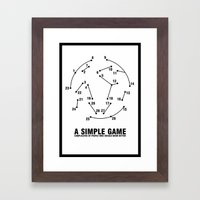 Bill Shankly - A Simple Game Framed Art Print