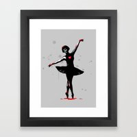 Dance With Death  Framed Art Print