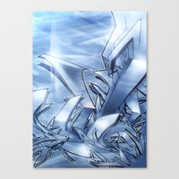 Mystique Blue Canvas Print