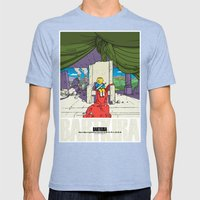 Bartkira / Neo-Springfield Poster  Mens Fitted Tee Tri-Blue SMALL