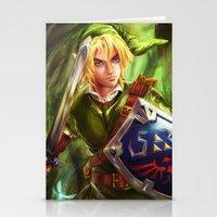 Link - Legend of Zelda Stationery Cards