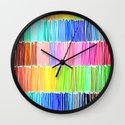 PRISMATIC RAINBOW Wall Clock
