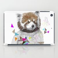 RED PANDA by Jamie Mitchell and Kris Tate iPad Case