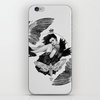Queen Of Wings iPhone & iPod Skin