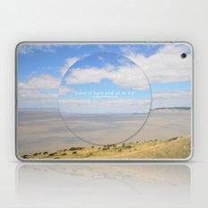 Quiet Is Here Laptop & iPad Skin