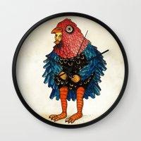 El Pájaro Wall Clock