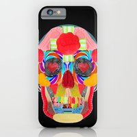 Sweet Sweet Sugar Skull On Black iPhone 6 Slim Case