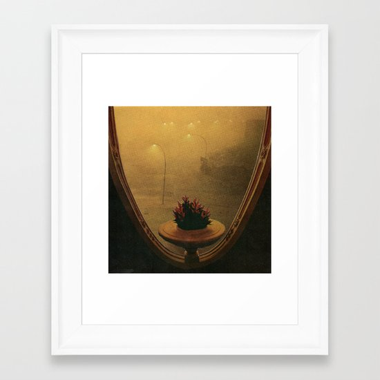 the Room Framed Art Print