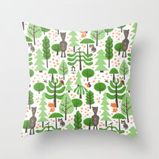 Wildwood Throw Pillow