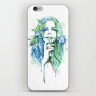 iPhone & iPod Skin featuring Lana by Veronika Neto