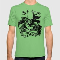 The Dark Knight Mens Fitted Tee Grass SMALL