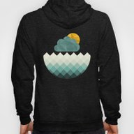Sea Polygons Hoody