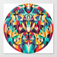 Melting Point Canvas Print